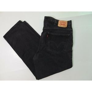 Levis 550 40 x 30 Black Jeans Relaxed Fit Pants